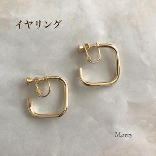DEUXIEME CLASSE - 【高品質】スクエアイヤリング