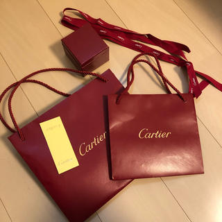 カルティエ(Cartier)のカルティエ ショップ袋 空箱(ショップ袋)