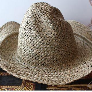ヴィヴィアンウエストウッド(Vivienne Westwood)の新品 ヴィヴィアン Straw Chico Hat (麦わら帽子/ストローハット)