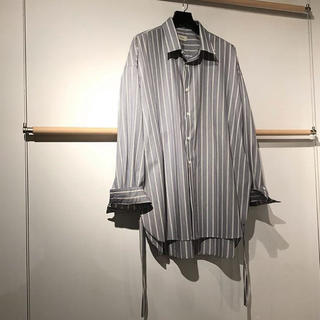 SUNSEA - toironier ストライプシャツ