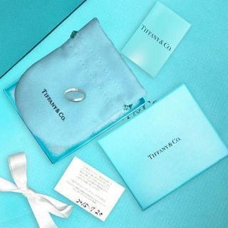 ティファニー(Tiffany & Co.)の未使用 ティファニー ノーツナローリング7号(リング(指輪))