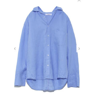 Mila Owen - MilaOwenフレンチリネンシャツ 雑誌掲載 ミラオーウェン麻シャツ