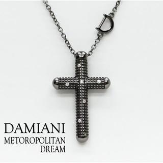 ダミアーニ(Damiani)のダミアーニ メトロポリタンドリーム クロスネックレス ブラック(ネックレス)