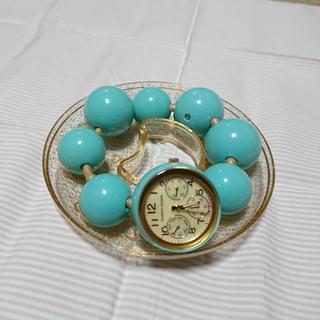 ツモリチサト(TSUMORI CHISATO)のにこん様専用 ツモリチサト ハッピーボール 腕時計(腕時計)