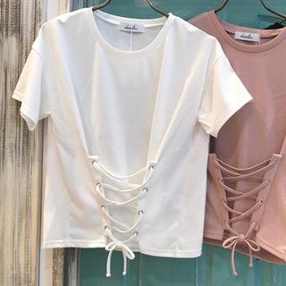 ダズリン(dazzlin)の【dazzlin】コルセットTシャツ♡新品タグ付き(Tシャツ(半袖/袖なし))