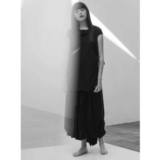 ヨウジヤマモト(Yohji Yamamoto)のGround Y アシンメトリーレイヤードパンツ(その他)