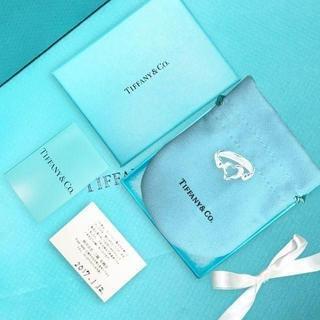 ティファニー(Tiffany & Co.)の未使用 ティファニー オープン ハートリング くり抜き9号(リング(指輪))
