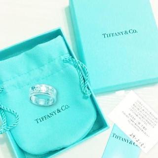 ティファニー(Tiffany & Co.)の未使用 ティファニー 1837ロゴリング12号(リング(指輪))