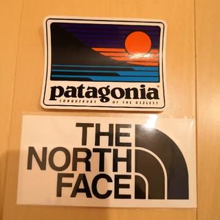 THE NORTH FACE - パタゴニア&ノースフェイスステッカー