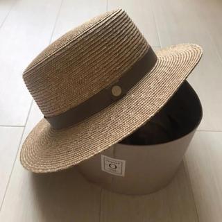 ドゥロワー(Drawer)のシャポードオー カンカン帽(麦わら帽子/ストローハット)