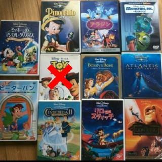 ディズニー(Disney)のディズニー DVD 14作品18枚セット 1203(アニメ)