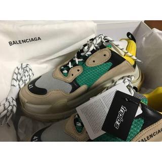Balenciaga - バレンシアガ トリプルS イエロー×グリーン