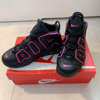 ナイキ(NIKE)の23.5cm【NIKE】AIR MORE UPTEMPO GS(スニーカー)