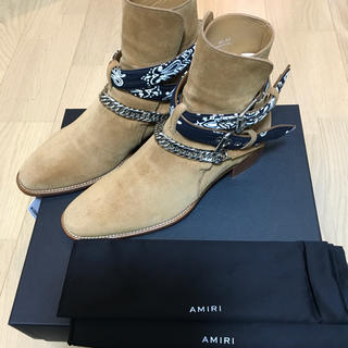 AMIRI バンダナ ブーツ サイズ 43