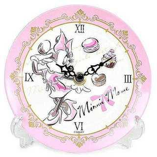 ディズニー プリンセス 置き時計 メラミントレークロック アナログ ミニー