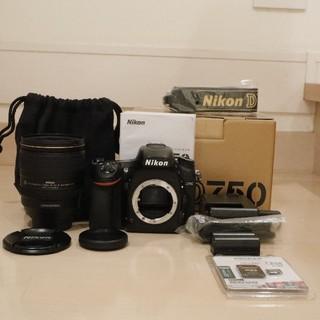 Nikon - Nikon D750 AF-S 24-120mm F4 G ED VR