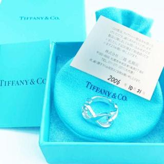 ティファニー(Tiffany & Co.)の未使用 ティファニー ダブルラビングハートリング7号(リング(指輪))