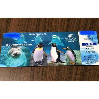 しまね海洋館アクアス 入館券(大人1枚)(水族館)