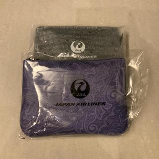 ジャル(ニホンコウクウ)(JAL(日本航空))のETRO &龍村美術織物アメニティポーチ2個セット(ポーチ)