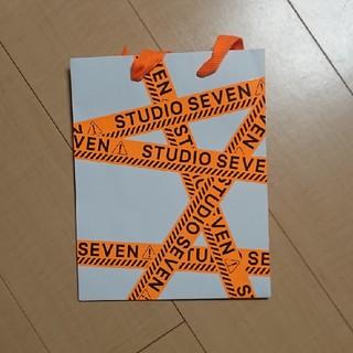三代目 J Soul Brothers - STUDIOSEVEN ショッパー オレンジ