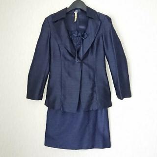 3e296184a2780 ロペ(ROPE)の値下交渉OK パーティー スーツ 披露宴 結婚式 ドレス 紺