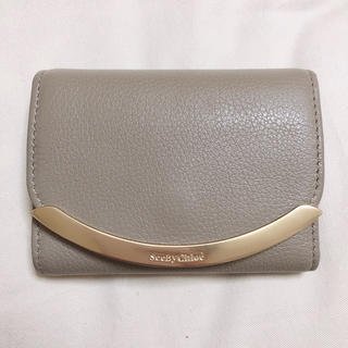 SEE BY CHLOE - 超美品 シーバイクロエ 三つ折り財布