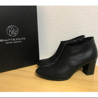 BEAUTY&YOUTH UNITED ARROWS - BEAUTY&YOUTH UNITED ARROWS レザーアンクルブーツ23