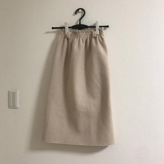 GRL - GRL裏面スリット入りニットスカート(2018A/W)
