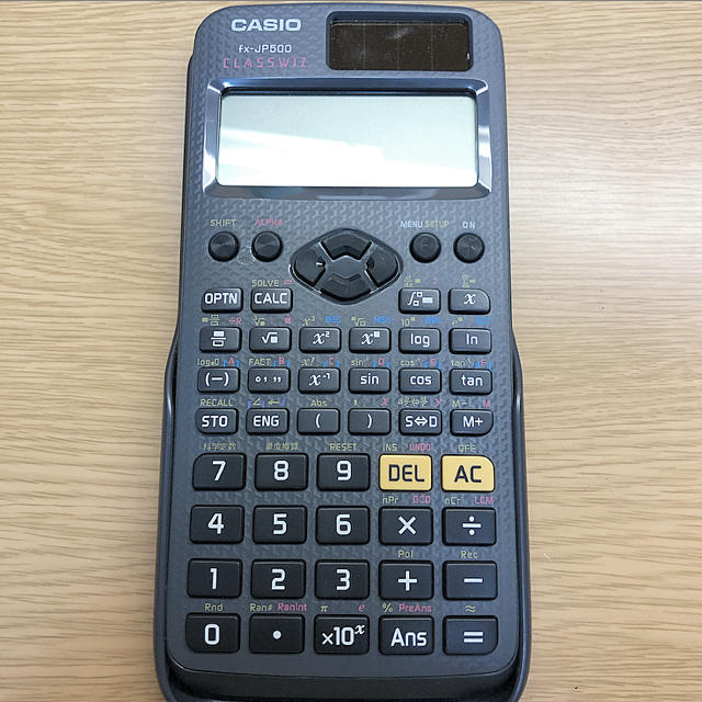 CASIO(カシオ)のCASIO 関数電卓 インテリア/住まい/日用品のオフィス用品(オフィス用品一般)の商品写真