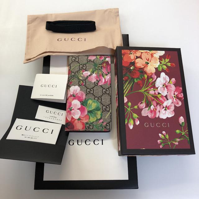 Gucci - GUCCI GGブルームス iPhone 7/8手帳型ケースの通販 by harukoto|グッチならラクマ