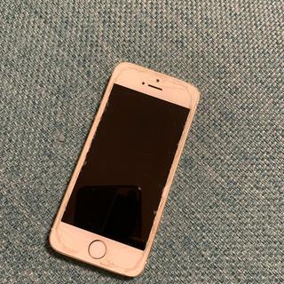 iPhone - iPhone SE ゴールド