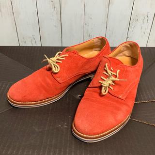 【メルミン】MEERMIN シューズ 靴 赤 40サイズ 送料無料(ドレス/ビジネス)