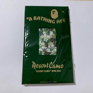 アベイシングエイプ(A BATHING APE)のAPE エイプ 付録 リゾートカモ ミニバッグ(その他)