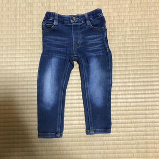 シマムラ(しまむら)のデニム風パンツ 80(パンツ)