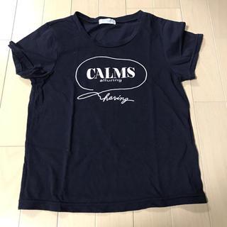 シマムラ(しまむら)のロゴTシャツ  ZARA kids  ピンクラテ  ラブトキシック レピピ(Tシャツ/カットソー)