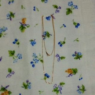 K10 ネックレス(ネックレス)