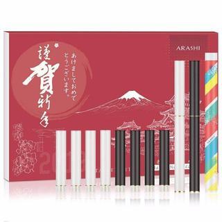 ARASHI FLEVO互換 電子タバコ スターターキット カートリッジ 10種(その他)