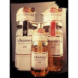 【新品10%オフ】& honey +オイルセット【アンドハニー】(シャンプー)