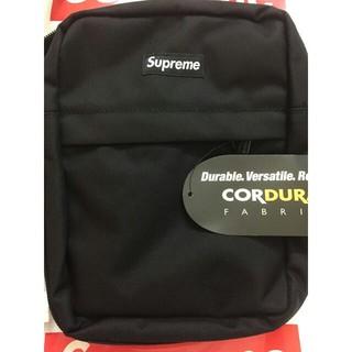 Supreme - supreme 18ss shoulder bag black