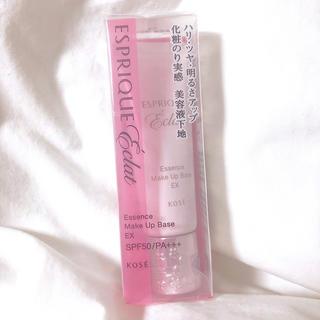 エスプリーク(ESPRIQUE)の✨新品✨KOSE✨エスプリークエクラ🎀明るさ持続下地EX ピンク色(化粧下地)