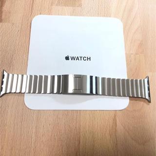 Apple Watch - [美品] 純正 Apple Watch リンクブレスレット シルバー 38mm