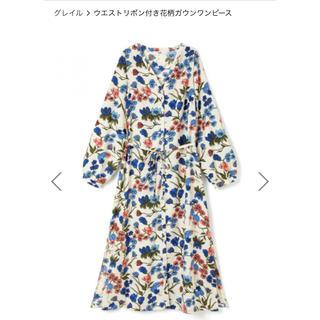 グレイル(GRL)の花柄ワンピース(ロングワンピース/マキシワンピース)