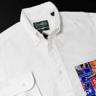 ブルックスブラザース(Brooks Brothers)の♂【新品◆モノ博限定】ギットマンブラザーズ OX BDシャツ M 白(シャツ)