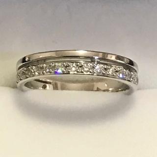 スタージュエリー(STAR JEWELRY)の【美品】スタージュエリーPt950ダイヤモンドリング(リング(指輪))