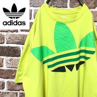 アディダス(adidas)の【激レア】アディダスオリジナル超ビッグトレフォイル ロゴビッグサイズ半袖Tシャツ(Tシャツ/カットソー(半袖/袖なし))