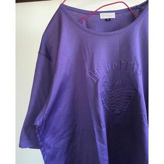 バーバリー(BURBERRY)のused 90'S バーバリー 刺繍ロゴTシャツ♡Burberrys♡(Tシャツ/カットソー(半袖/袖なし))