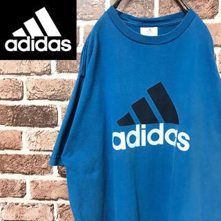 アディダス(adidas)の【激レア】アディダス ビッグパフォーマンスロゴ人気カラービッグサイズ半袖Tシャツ(Tシャツ/カットソー(半袖/袖なし))