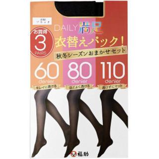 【新品】3P 衣替えパック レディース(タイツ/ストッキング)