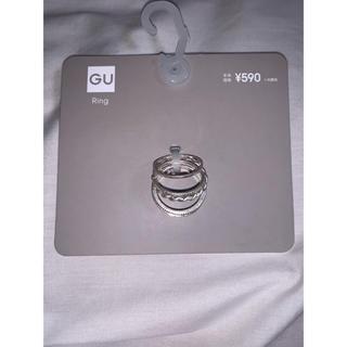 ジーユー(GU)のGU ナローリングセット(リング(指輪))
