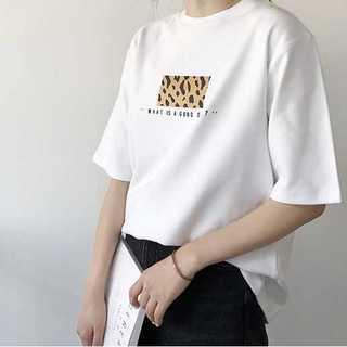 Tシャツ レオパード ホワイト FREE *TTS001-WHFR(Tシャツ(半袖/袖なし))